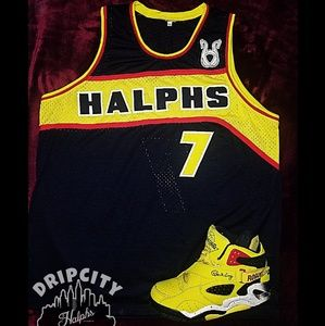 Halphs Co™️ Paying Hommage Basketball Jersey